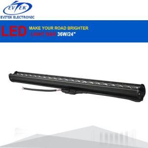 "6500k 63W 24"" 12V LED Light Bar Spot Flood Combo Beam Offroad Work Light Driving LED Bar Light for Jeep ATV Trailer pictures & photos"