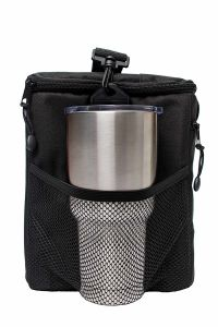 Reusable Lunch Box with Large Mesh Side Pockets and Detachable Shoulder Strap pictures & photos