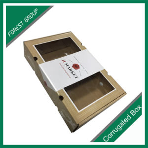 Top and Bottom Gift Box with Clear Window pictures & photos