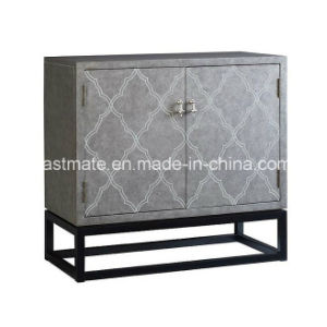 Contemporary Hallway Console Table Modern Top Cabinet with Shelfs pictures & photos