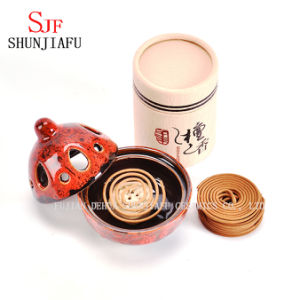 Round Terracotta Mosquito Coil Holder pictures & photos