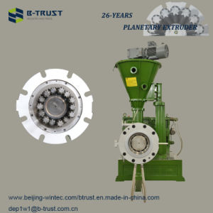 PVC Extrusion Machine with Planetary Screws and Barrel pictures & photos