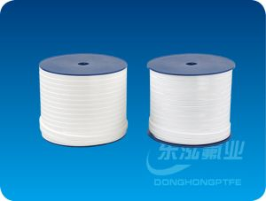 White Expand PTFE Elastic Belt Tape Ribbon