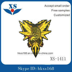 Cheap Custom Metal Enamel Pin Badges pictures & photos