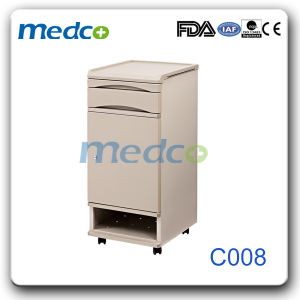 ABS Blue Hospital Bedside Cabinet pictures & photos