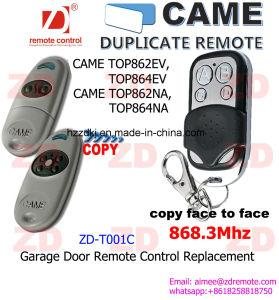 Universal Came Duplicate Remote / Cloning Remote 433/868MHz for Key Fob pictures & photos