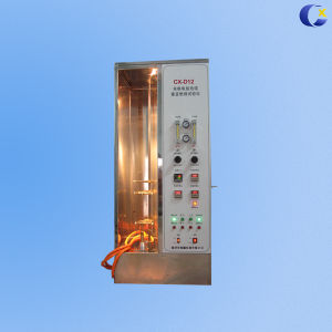 Rising Single Wire and Cable Fire Test Instrument pictures & photos