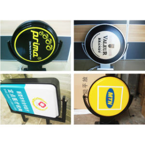 Outdoor Rotating LED Acrylic Light Box pictures & photos
