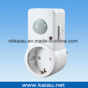 Infrared PIR Motion Sensor Socket Adaptor pictures & photos