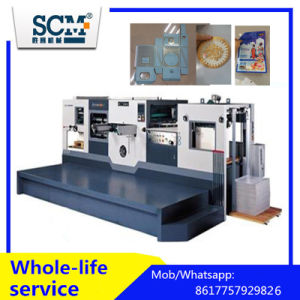 PVC/Fabric/Corrugated/Paper Die Cutting and Creasing Machine