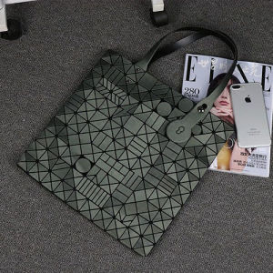 Matt Dark Green PU Lady Handbag (A0119-2) pictures & photos