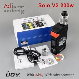 Newest Coming Ijoy Solo V2 Mod Starter Kit 200W Ijoy Solo V2 200W Kit Original Ijoy pictures & photos