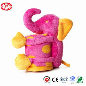 Pig Plush Soft Baby Blanket Pink Fleece En71 Gift Set pictures & photos
