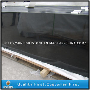 Absolute Shanxi Black Granite Kitchen Countertops for Commercial/Residential pictures & photos