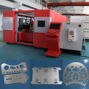 New Fiber Laser Cutting Machine (GS-LFD3015) pictures & photos