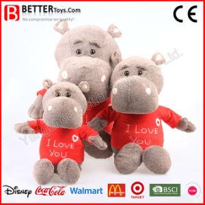 Lifelike Soft Stuffed Animal Plush Hippo Toys pictures & photos
