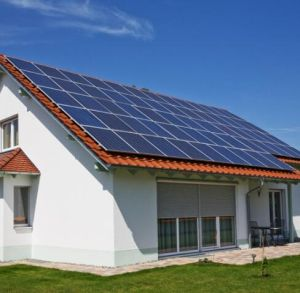 Grid Tied Solar Panel Energy System Solution for Home pictures & photos