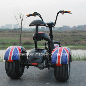 3wheels Electric Tricycle City Coco with Ce pictures & photos