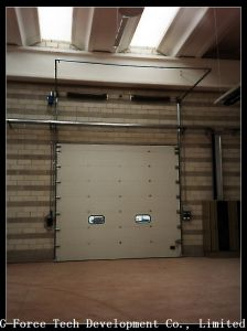 Metal or Aluminum Alloy Security Electric Overhead Roller Shutter Garage Door pictures & photos