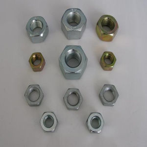 ANSI B18.2.2 Hex Nuts Unc Gr2/5/8 Y. Z. P pictures & photos