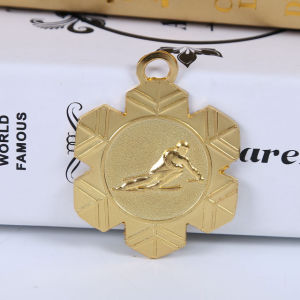 Newest Gold Silver Bronze Plating Iron Casting Blank Insert Medals pictures & photos