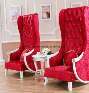European High-Back Chair Decoration to Hotel Lobby Image Chair Club KTV Beauty Salon Princess Studio Chair (M-X3363) pictures & photos