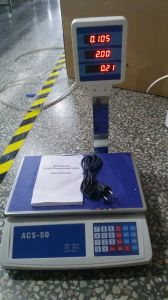 Digital Electronic Price Computing Scale with Pole pictures & photos