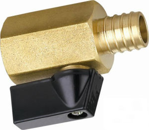 Female Thread Valve Brass Inside and Outside The Hexagon (EM-V-14) pictures & photos