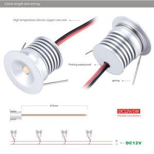 1W LED Spotlight IP65 12V Garden LED Lamp Light pictures & photos