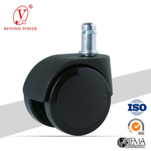 50mm Rubber Office Chair Castor Furniture Swivel Caster Wheel Cabinet Caster pictures & photos