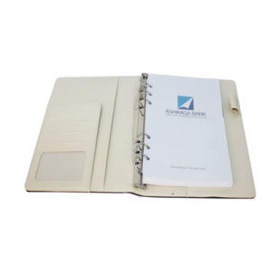 Hard Cover Custom Loose Leaf Notebook pictures & photos