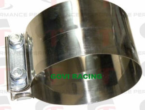 Torctite Stainless Steel Lap Joint Band Exhaust Pipe Clamp pictures & photos