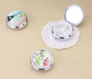 Promotional Gift -Creative Portable Mini 3 Slots Medical Drug Medicine Storage Case Organizer pictures & photos