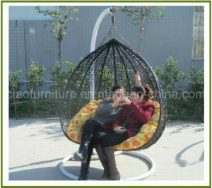 Hammock Round Rattan Handing Loveseat Swing Chair (CF1033H 2)