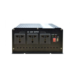 Ce RoHS DC 12V 24V 36V 48V to AC 220V 120V Power Inverter 5000W Modified Sine Wave Output pictures & photos