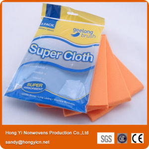 German Nonwoven Fabrc Kitchen Cleaning Cloth, 60%Viscose+40%Polyester Nonwoven Cloth pictures & photos