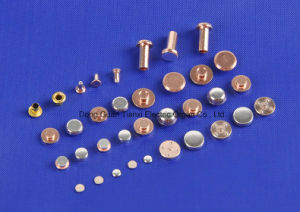 Mono Metal Contact Rivet Manufacture pictures & photos