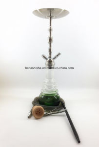 High Quality Smoking Pipe Zinc Alloy Hookah with Vaporizer Shisha Hookah pictures & photos