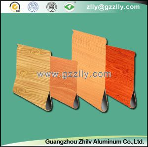 Wood Grain Water Dripping Aluminum Ceiling for Outdoor Decoration pictures & photos