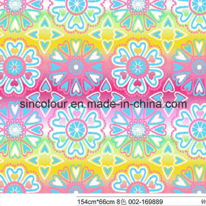 Snow Print Knitted Fabric 80%Nylon 20%Spandex Fabric for Swimwear pictures & photos