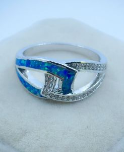 925 Silver Opal Jewelry Ring pictures & photos