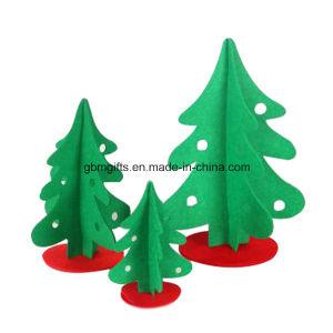 2016 Wholesale Fleece Christmas Trees Decoration for Children