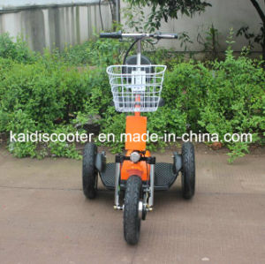 Disabled Big Wheels Electric Mobility Zappy Scooter with Rear Absorption pictures & photos