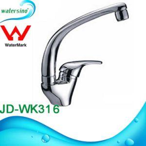 JD-WK2551 Newest Design Brass Chrome Kitchen Sink Faucet Round Shape Mixer pictures & photos