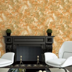 Guangzhou Wholesale Cheap Price Marble Design China 3D PVC Wall Paper Washable pictures & photos