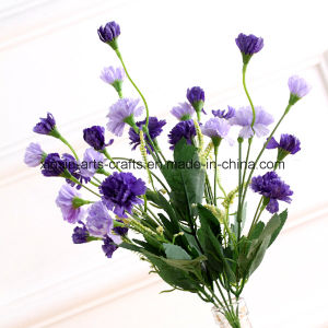 Cheap Lilac Artificial Flower Bouquet with 5 Branches&25heads pictures & photos