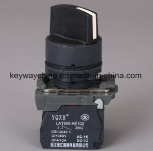 22mm Rotary Head Pushbutton Switch with CB Certificated pictures & photos