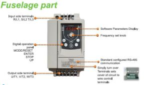 Mini Series VFD VSD Energy Saving AC Frequency Drive pictures & photos