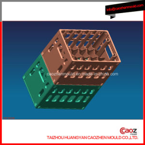 12 Bottle Plastic Injection Beer Crate Mould pictures & photos