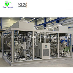550-5400nm3h Capacity Range 2 Compression Stages Natural Gas Compressor pictures & photos